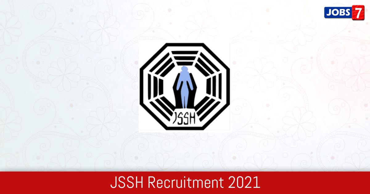 JSSHS Recruitment 2021: 79 Jobs in JSSHS | Apply @ www.jsshs.org