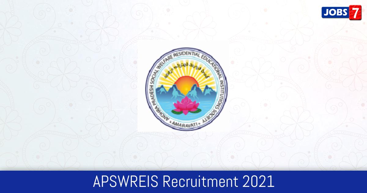 APSWREIS Recruitment 2021: 53 Jobs in APSWREIS | Apply @ www.apswreis.in