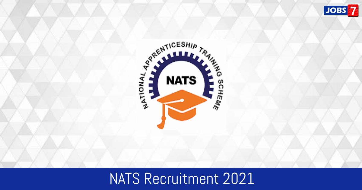 NATS Recruitment 2021:  Jobs in NATS | Apply @ portal.mhrdnats.gov.in