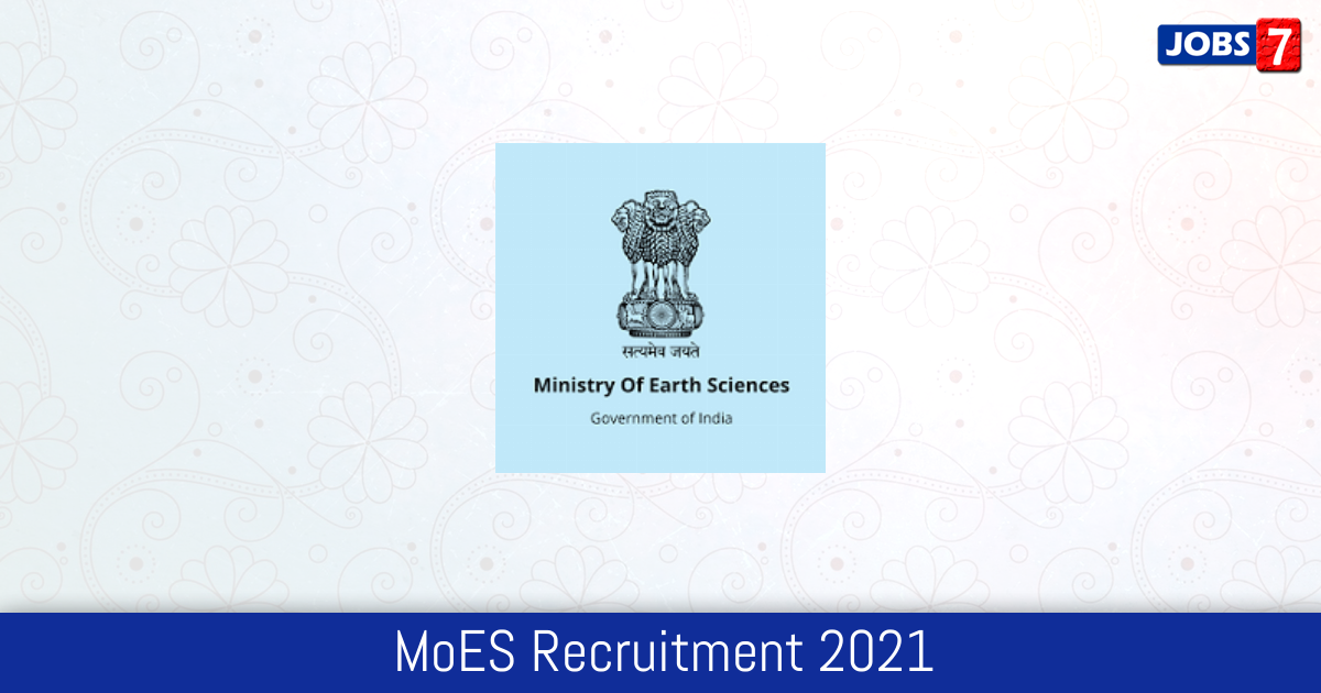 MoES Recruitment 2021:  Jobs in MoES | Apply @ www.moes.gov.in
