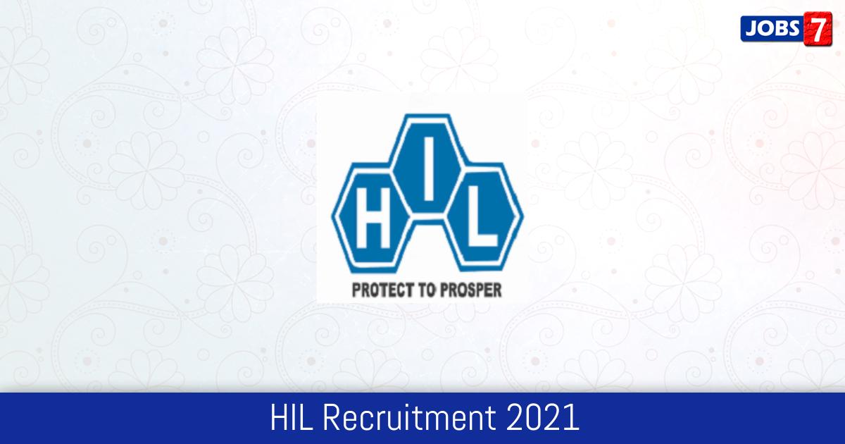 HIL Recruitment 2021:  Jobs in HIL | Apply @ www.hil.gov.in