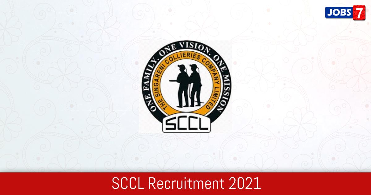 SCCL Recruitment 2021:  Jobs in SCCL   Apply @ scclmines.com