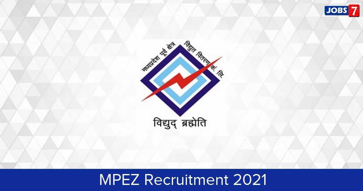 MPEZ Recruitment 2021:  Jobs in MPEZ | Apply @ www.mpez.co.in