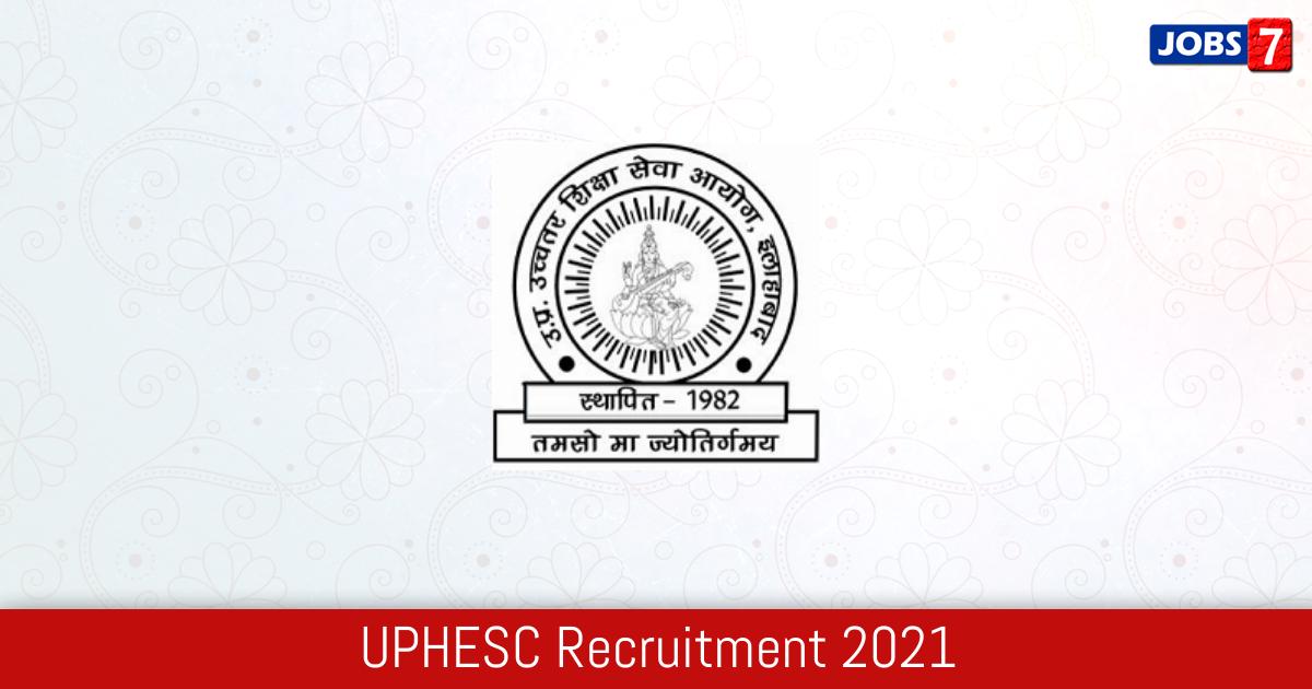 UPHESC Recruitment 2021:  Jobs in UPHESC   Apply @ site.uphesc.org