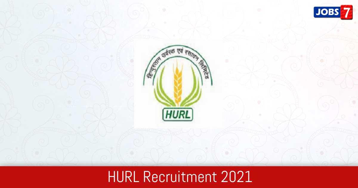 HURL Recruitment 2021:  Jobs in HURL | Apply @ www.hurl.net.in