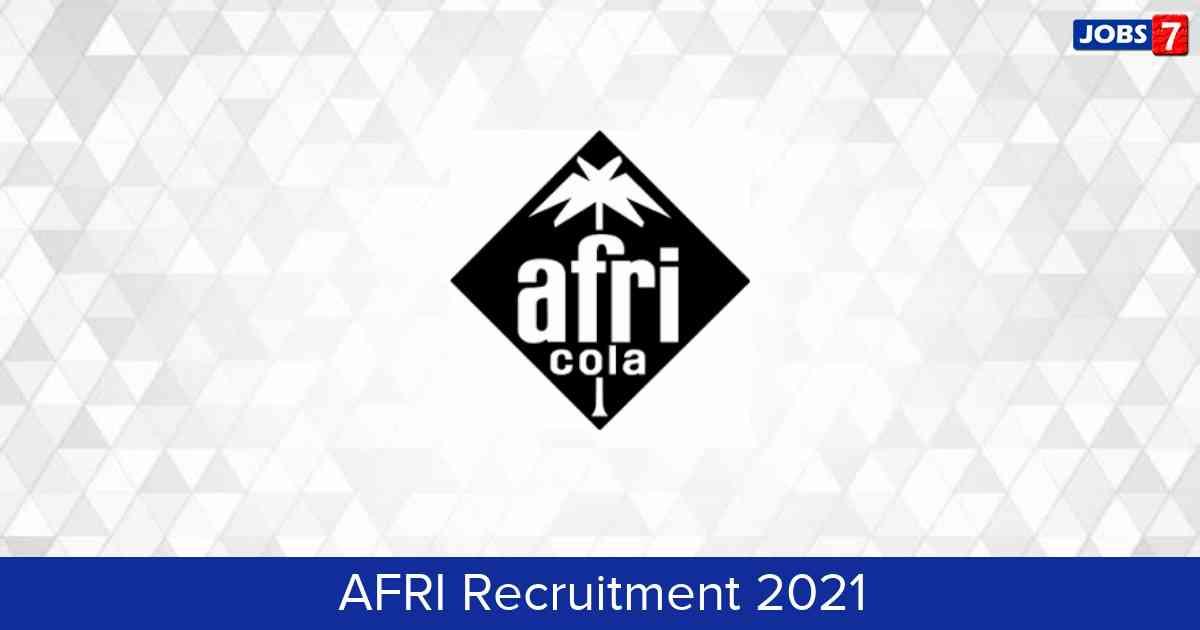 AFRI Recruitment 2021:  Jobs in AFRI   Apply @ www.gfar.net