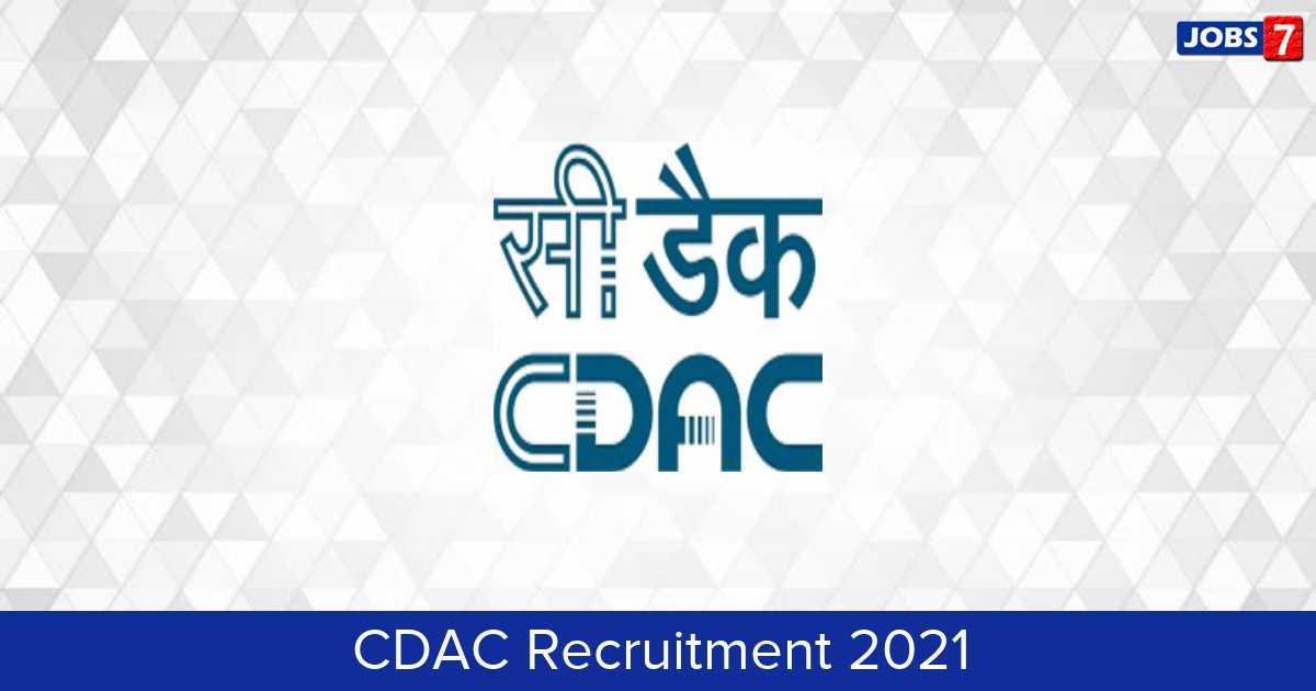 CDAC Recruitment 2021: 113 Jobs in CDAC | Apply @ www.cdac.in
