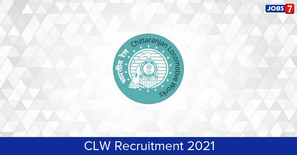 CLW Recruitment 2021:  Jobs in CLW | Apply @ clw.indianrailways.gov.in