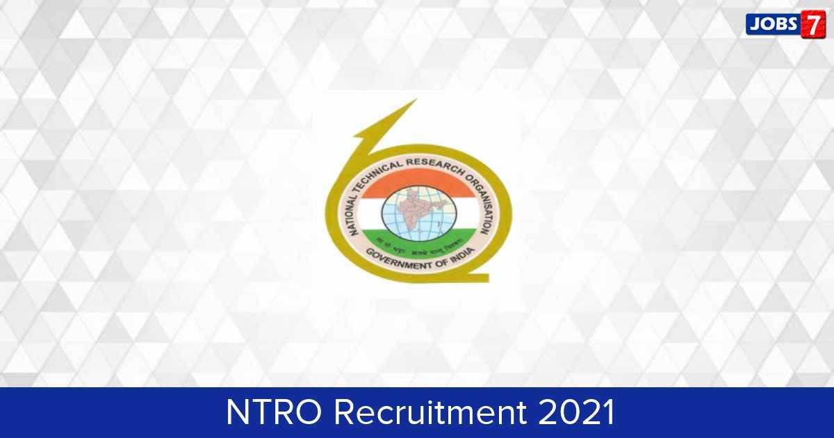 NTRO Recruitment 2021:  Jobs in NTRO | Apply @ ntro.gov.in