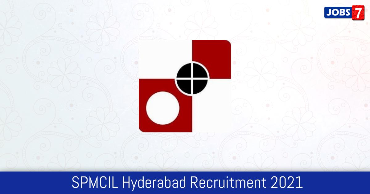 SPMCIL Hyderabad Recruitment 2021:  Jobs in SPMCIL Hyderabad | Apply @ spphyderabad.spmcil.com