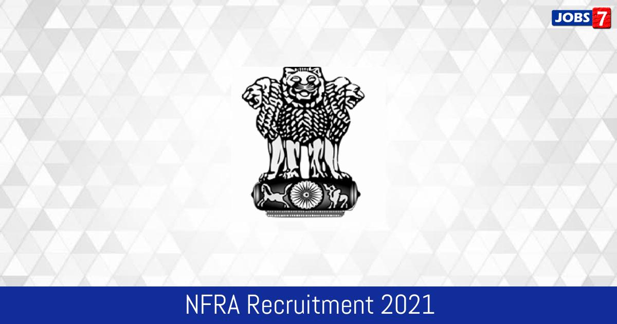 NFRA Recruitment 2021:  Jobs in NFRA | Apply @ nfra.gov.in