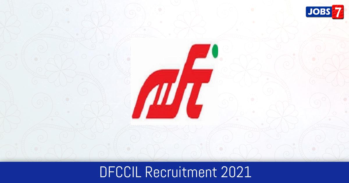 DFCCIL Recruitment 2021: 1074 Jobs in DFCCIL | Apply @ dfccil.com