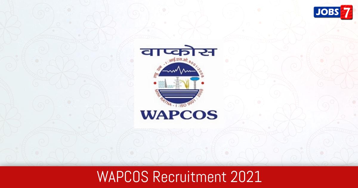 WAPCOS Recruitment 2021:  Jobs in WAPCOS | Apply @ www.wapcos.gov.in