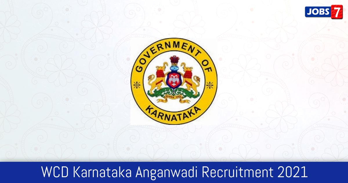 WCD Karnataka Anganwadi Recruitment 2021: 1992 Jobs in WCD Karnataka Anganwadi | Apply @ anganwadirecruit.kar.nic.in
