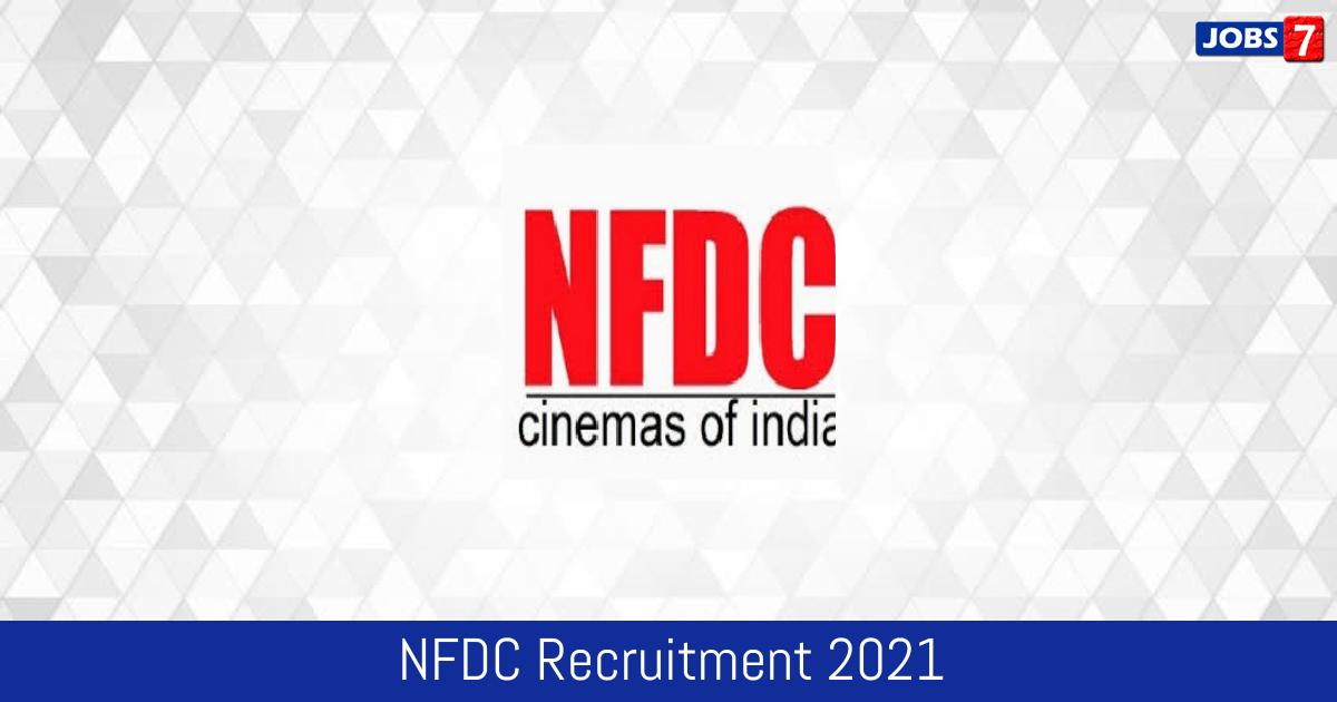 NFDC Recruitment 2021:  Jobs in NFDC   Apply @ www.nfdcindia.com