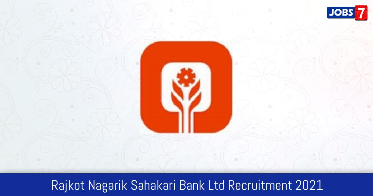 Rajkot Nagarik Sahakari Bank Ltd Recruitment 2021:  Jobs in Rajkot Nagarik Sahakari Bank Ltd | Apply @ rnsbindia.com