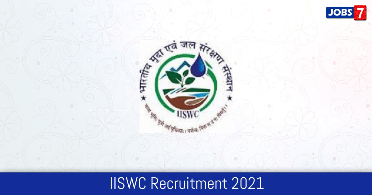 IISWC Recruitment 2021:  Jobs in IISWC | Apply @ www.cswcrtiweb.org