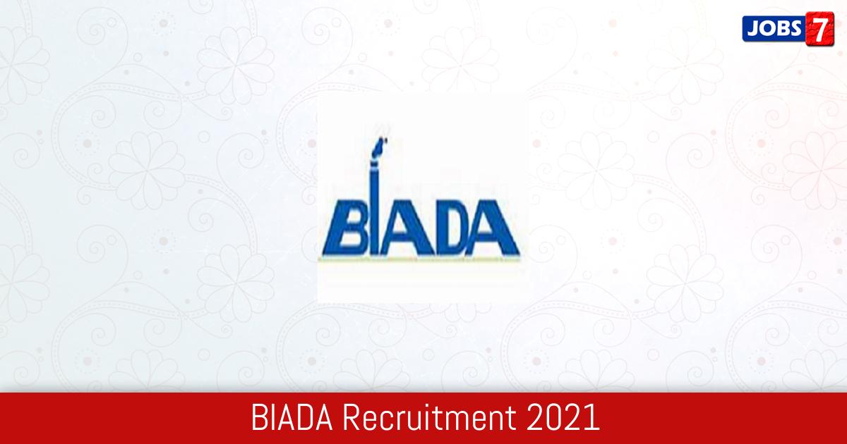 BIADA Recruitment 2021:  Jobs in BIADA | Apply @ www.biadabihar.in