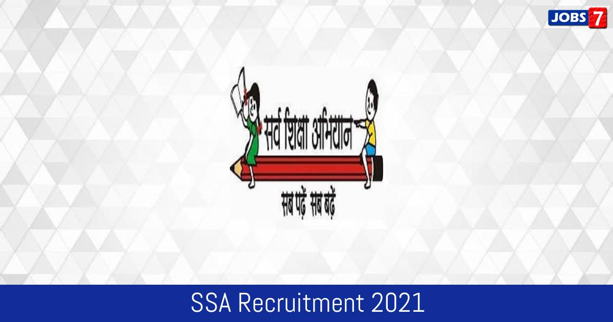 SSA Recruitment 2021: 8528 Jobs in SSA | Apply @ ssa.tn.nic.in