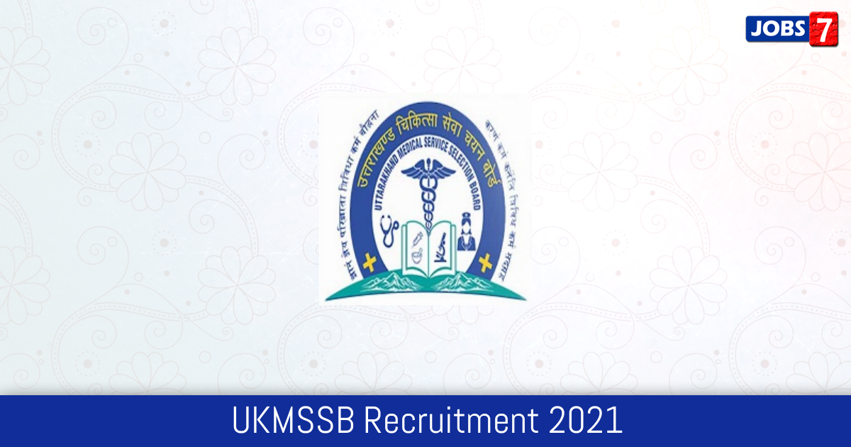 UKMSSB Recruitment 2021: 40 Jobs in UKMSSB | Apply @ ukmssb.org