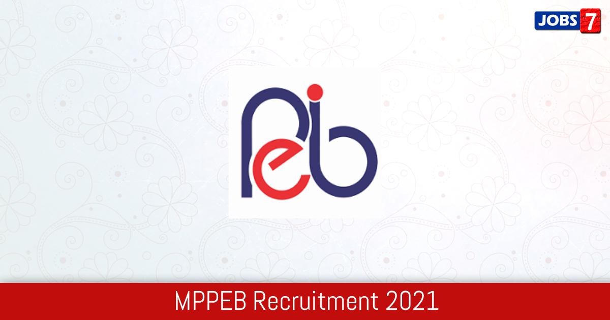 MPPEB Recruitment 2021:  Jobs in MPPEB   Apply @ peb.mp.gov.in