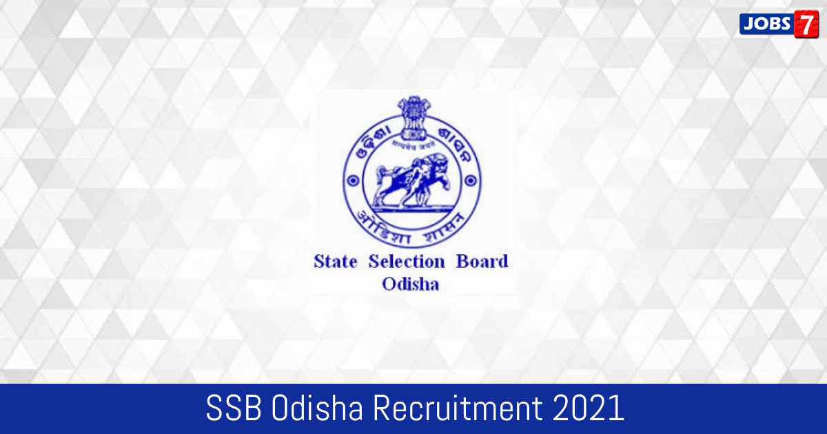 SSB Odisha Recruitment 2021: 972 Jobs in SSB Odisha | Apply @ www.ssbodisha.nic.in