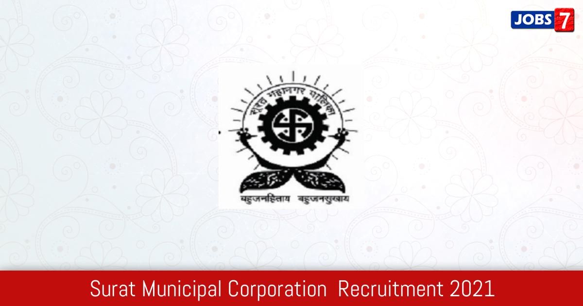 Surat Municipal Corporation  Recruitment 2021: 244 Jobs in Surat Municipal Corporation  | Apply @ www.suratmunicipal.gov.in
