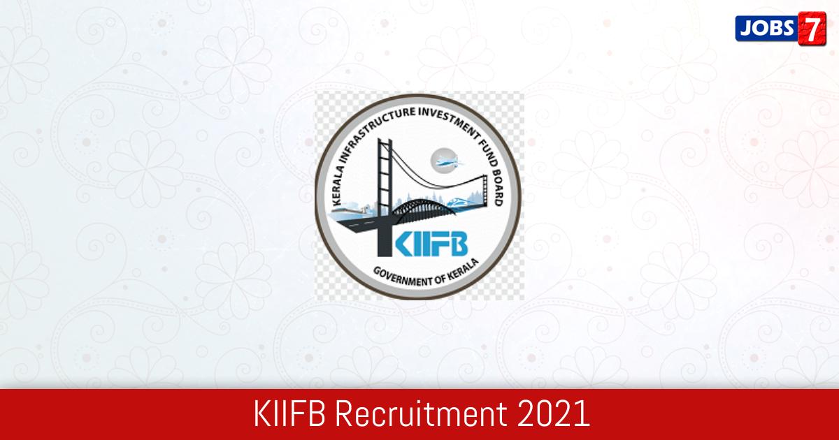 KIIFB Recruitment 2021:  Jobs in KIIFB | Apply @ kiifb.org
