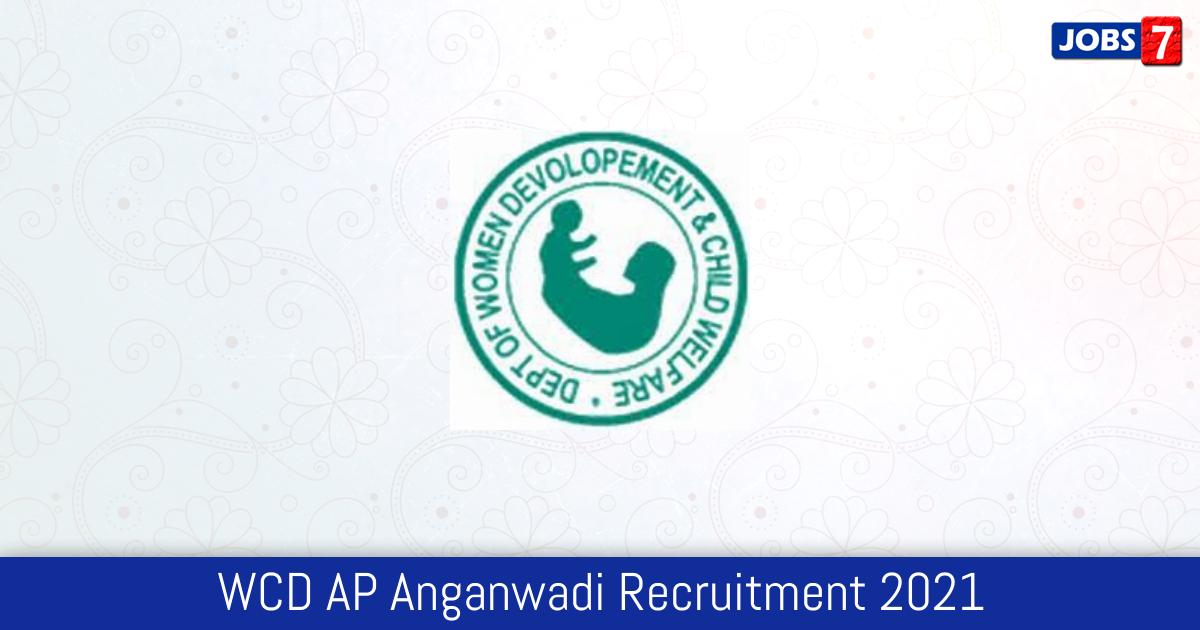WCD AP Anganwadi Recruitment 2021:  Jobs in WCD AP Anganwadi | Apply @ wdcw.ap.gov.in