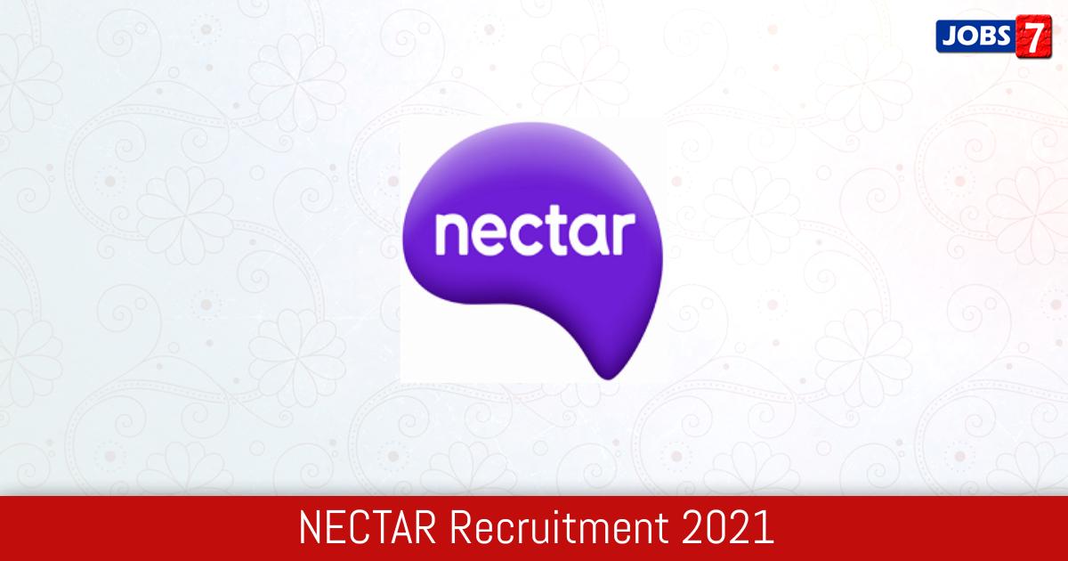 Nectar Recruitment 2021:  Jobs in Nectar   Apply @ www.nectar.org.in