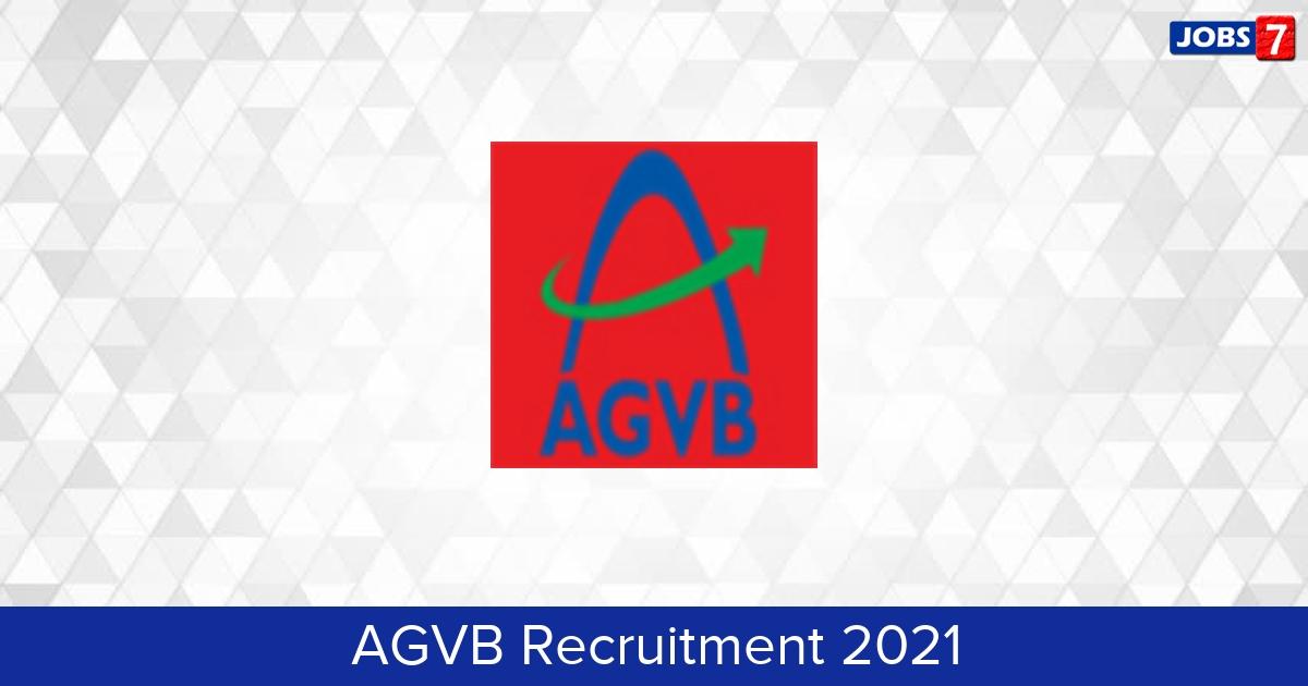 AGVB Recruitment 2021:  Jobs in AGVB | Apply @ www.agvbank.co.in