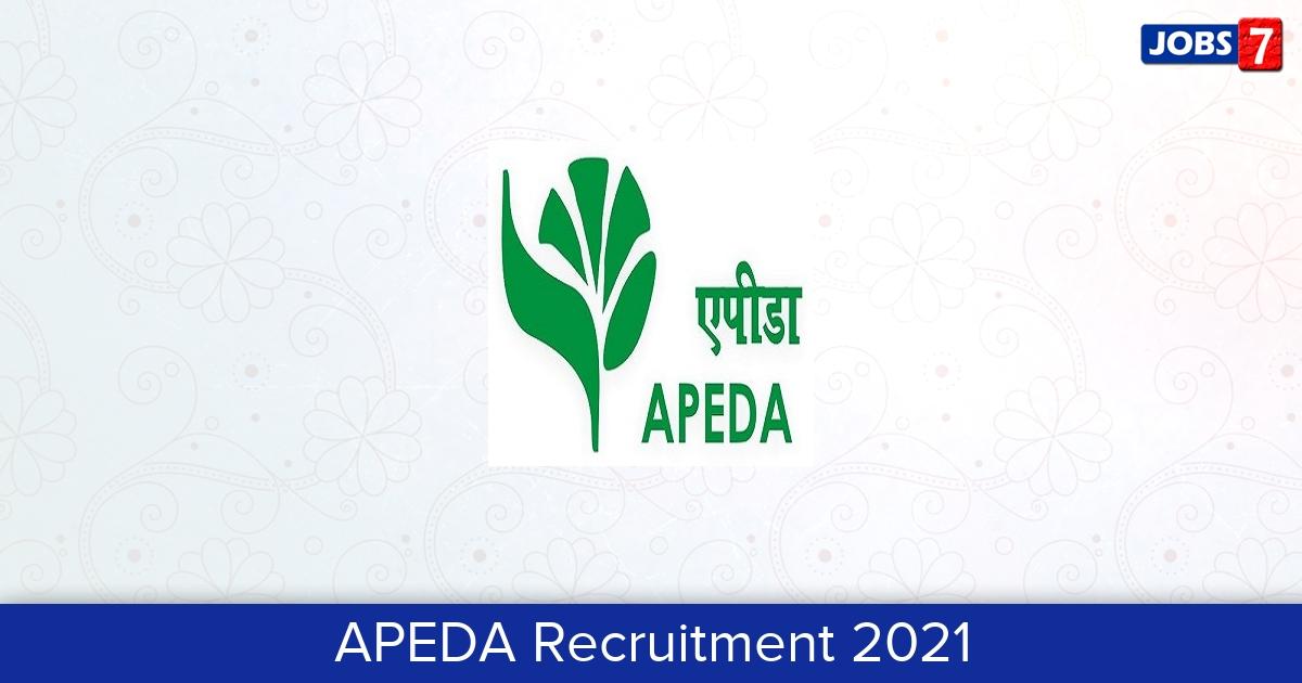 APEDA Recruitment 2021: 29 Jobs in APEDA   Apply @ apeda.gov.in