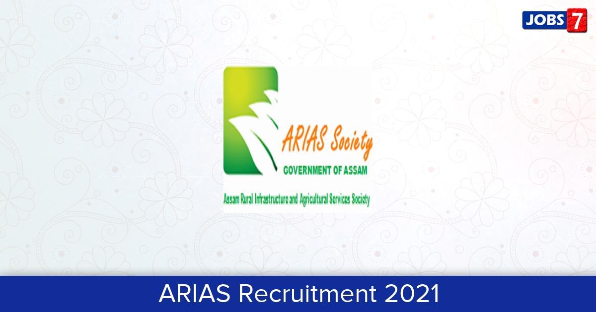 ARIAS Recruitment 2021:  Jobs in ARIAS | Apply @ www.arias.in
