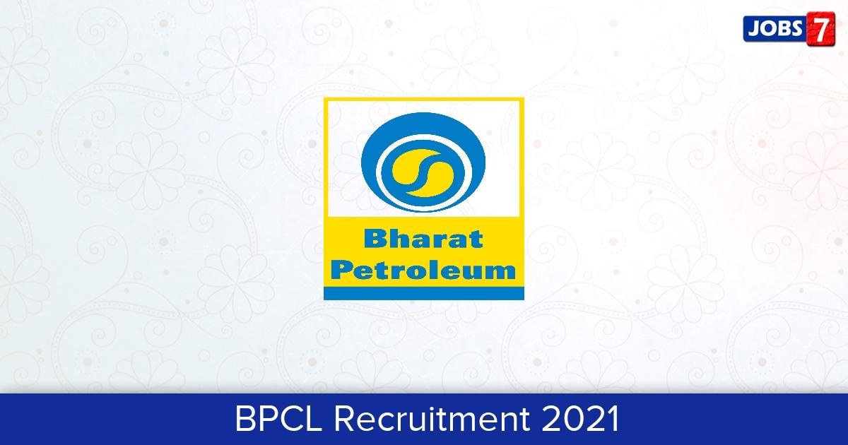 BPCL Recruitment 2021: 3 Jobs in BPCL   Apply @ www.bharatpetroleum.in