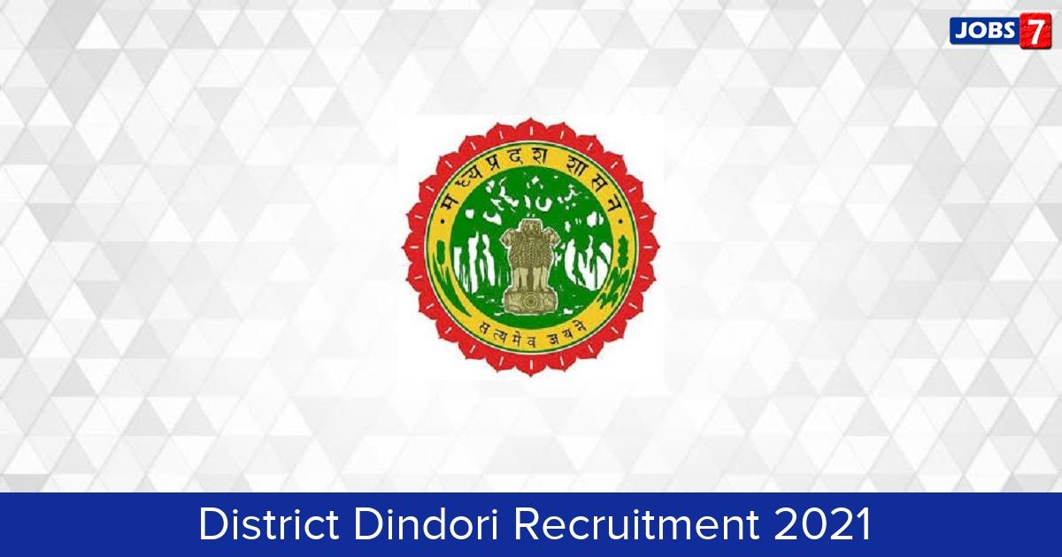 Dindori District Recruitment 2021:  Jobs in Dindori District | Apply @ dindori.nic.in