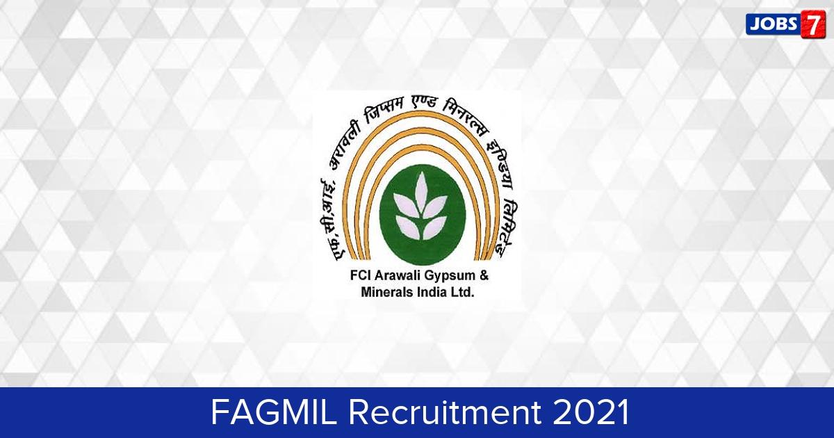 FAGMIL Recruitment 2021:  Jobs in FAGMIL | Apply @ fagmil.nic.in