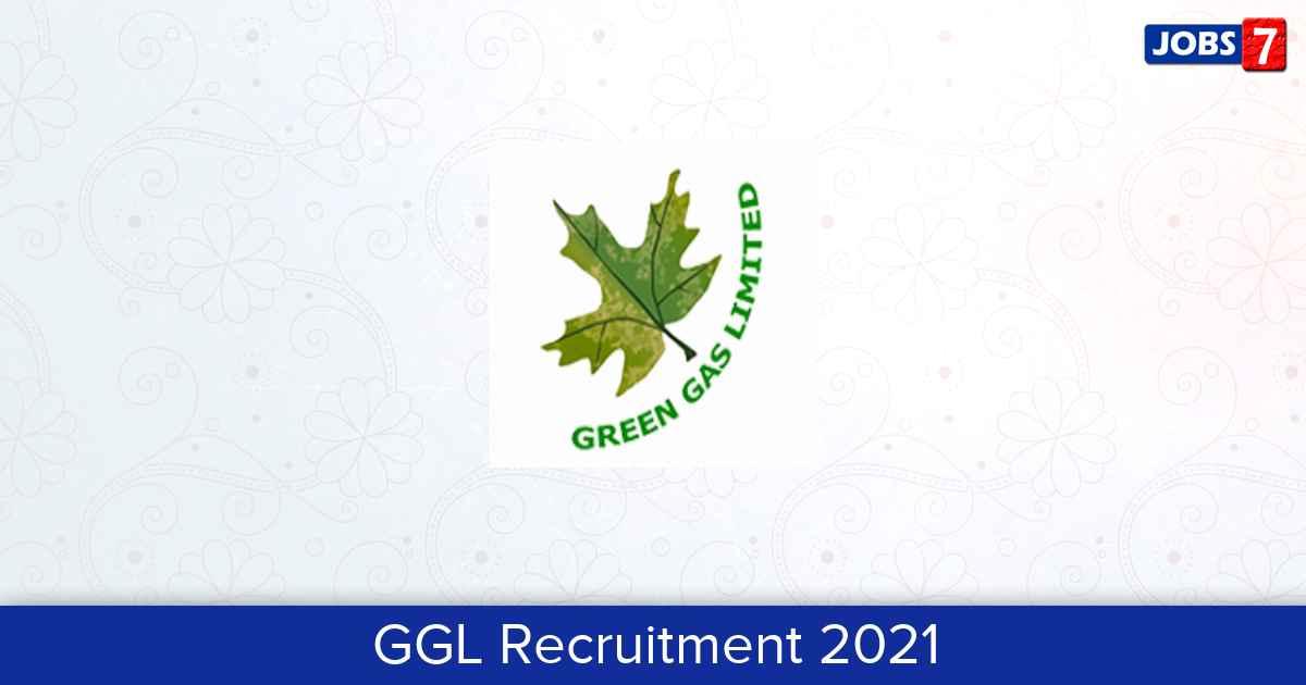 GGL Recruitment 2021:  Jobs in GGL | Apply @ www.gglonline.net