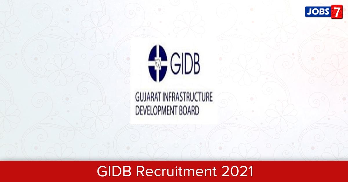 GIDB Recruitment 2021:  Jobs in GIDB   Apply @ www.gidb.org