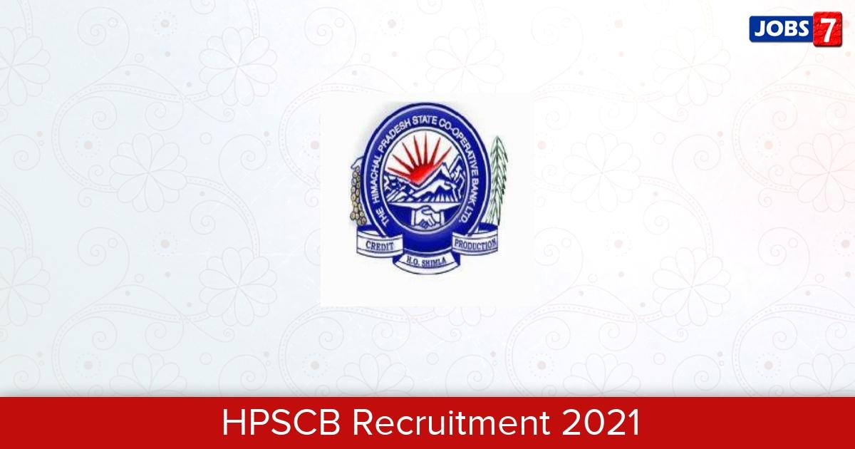 HPSCB Recruitment 2021:  Jobs in HPSCB | Apply @ hpscb.com