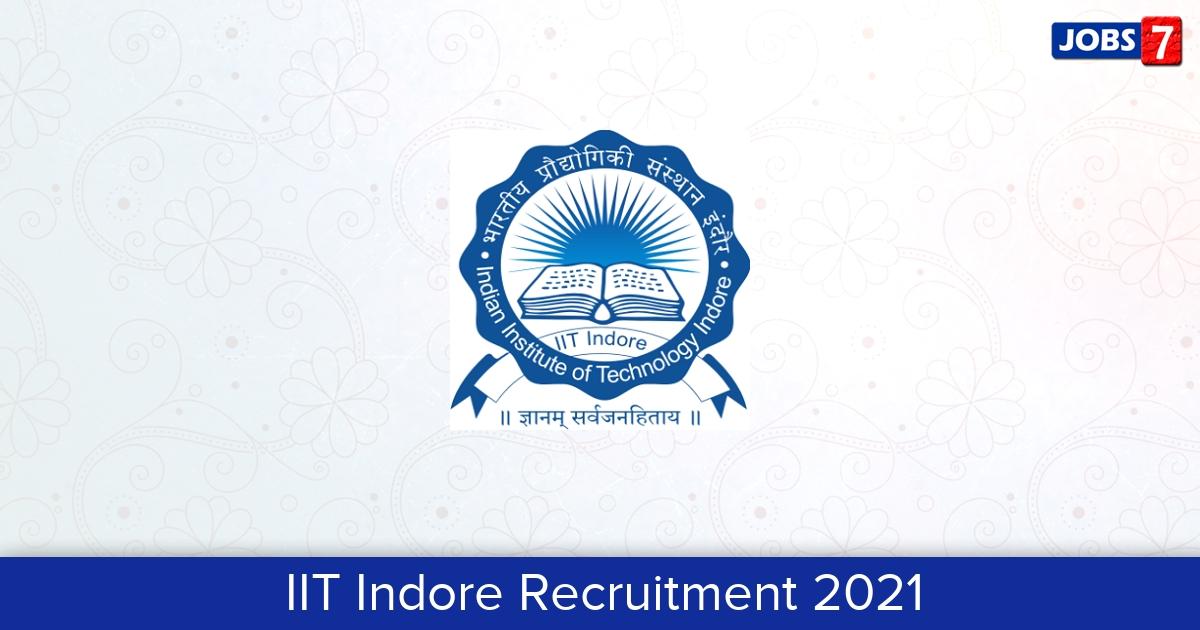 IIT Indore Recruitment 2021: 24 Jobs in IIT Indore   Apply @ www.iiti.ac.in