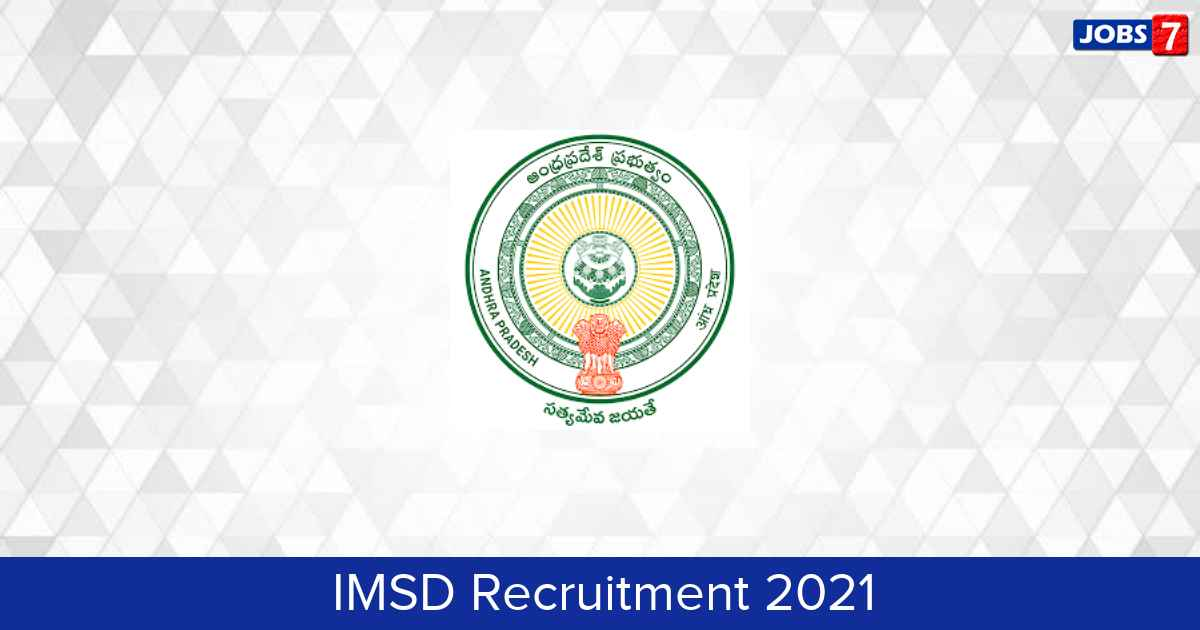 IMSD Recruitment 2021:  Jobs in IMSD   Apply @ apesi.weebly.com