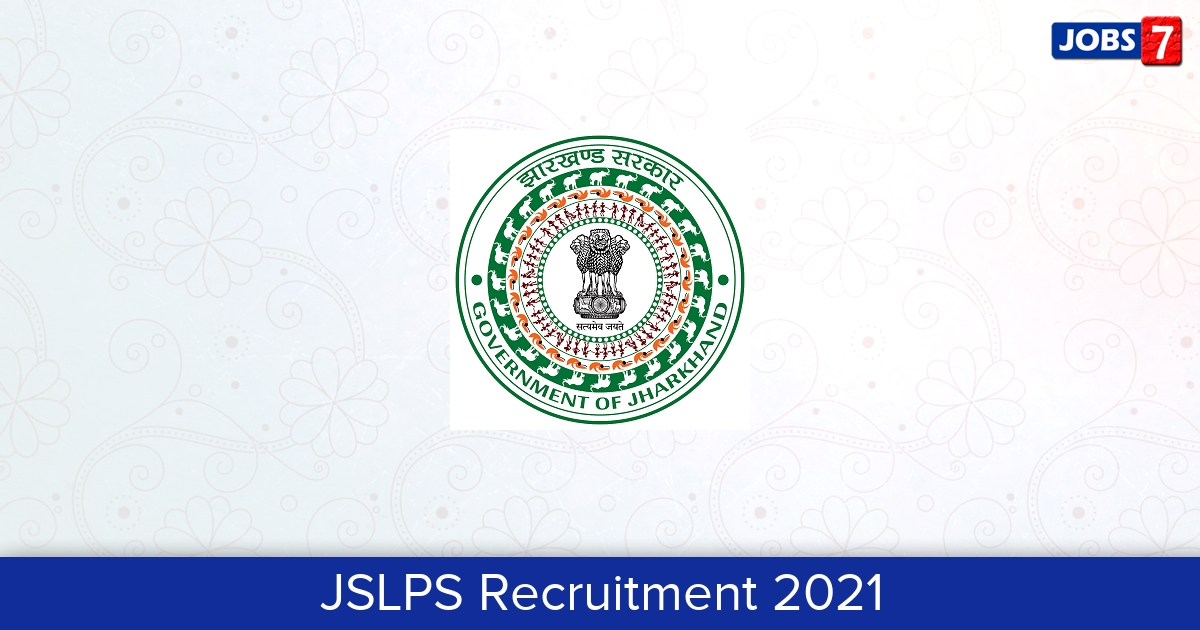 JSLPS Recruitment 2021: 428 Jobs in JSLPS | Apply @ jslps.org