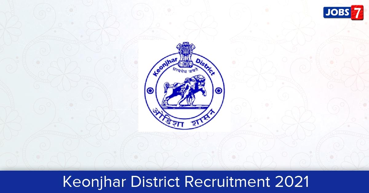 Keonjhar District Recruitment 2021:  Jobs in Keonjhar District | Apply @ kendujhar.nic.in