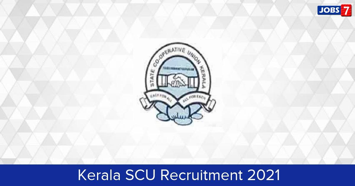 Kerala SCU Recruitment 2021:  Jobs in Kerala SCU | Apply @ scu.kerala.gov.in