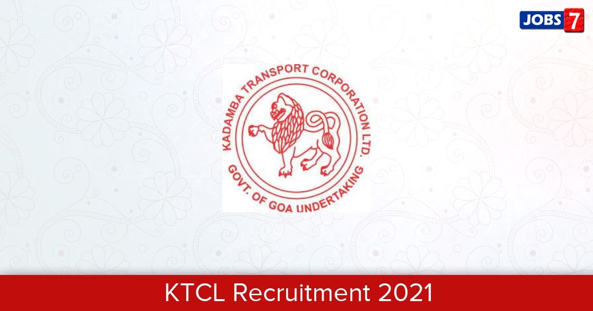 KTCL Recruitment 2021: 36 Jobs in KTCL | Apply @ ktclgoa.com