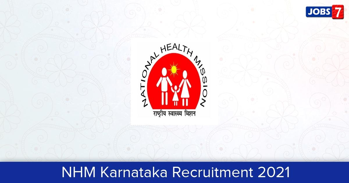 NHM Karnataka Recruitment 2021:  Jobs in NHM Karnataka | Apply @ techkshetra.info