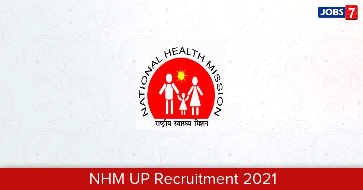 NHM UP Recruitment 2021: 2445 Jobs in NHM UP | Apply @ upnrhm.gov.in