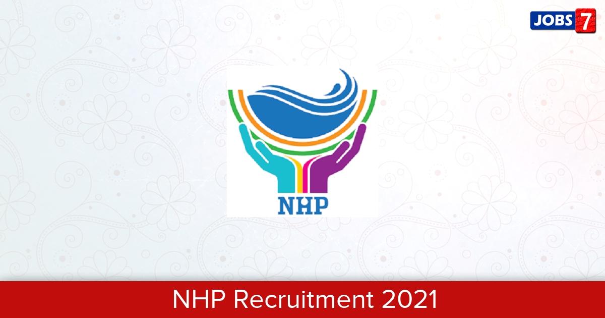 NHP Recruitment 2021:  Jobs in NHP | Apply @ nhp.mowr.gov.in