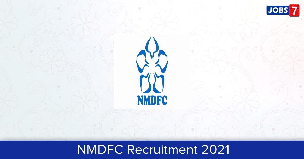 NMDFC Recruitment 2021:  Jobs in NMDFC | Apply @ wwwnmdfc.org