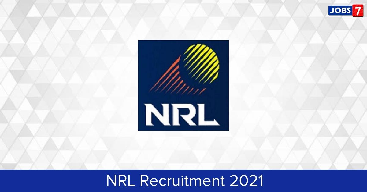 NRL Recruitment 2021:  Jobs in NRL | Apply @ www.nrl.co.in